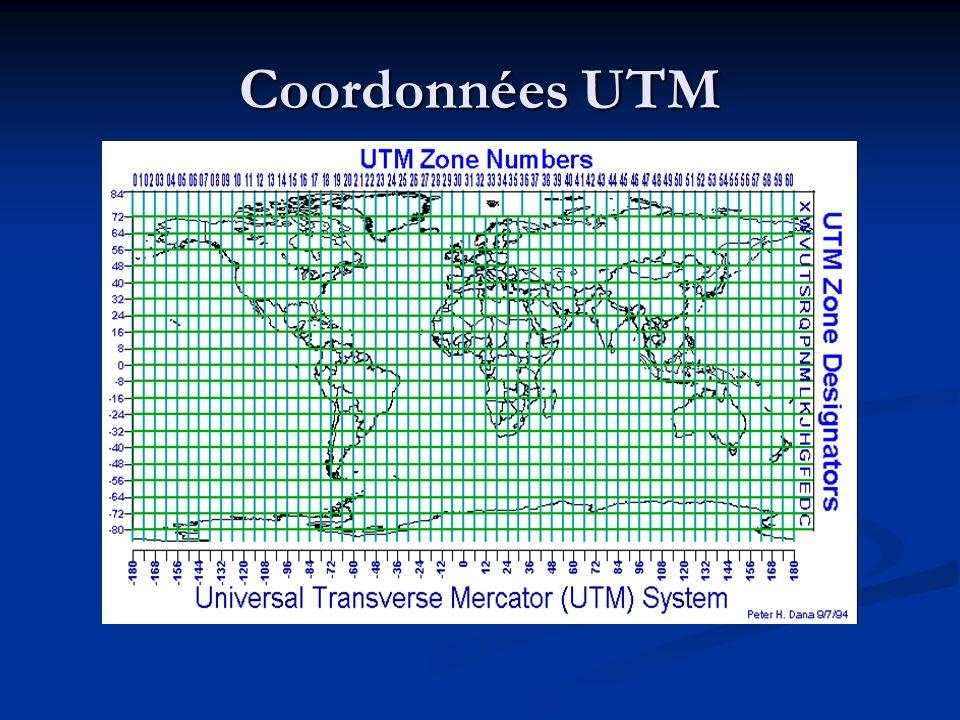 Coordonnées UTM