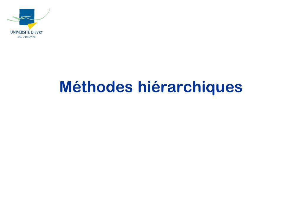 Méthodes hiérarchiques