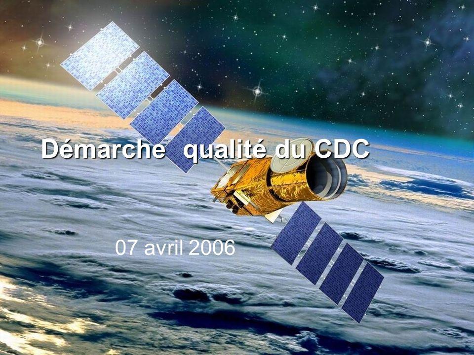 Démarche qualité du CDC