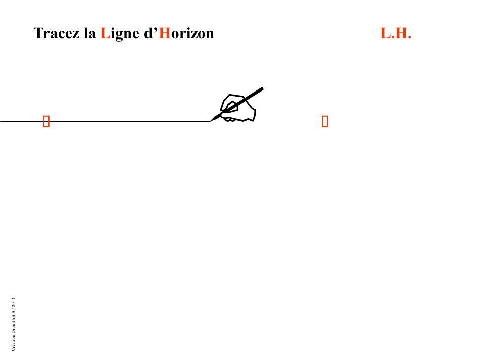Tracez la Ligne d'Horizon L.H.