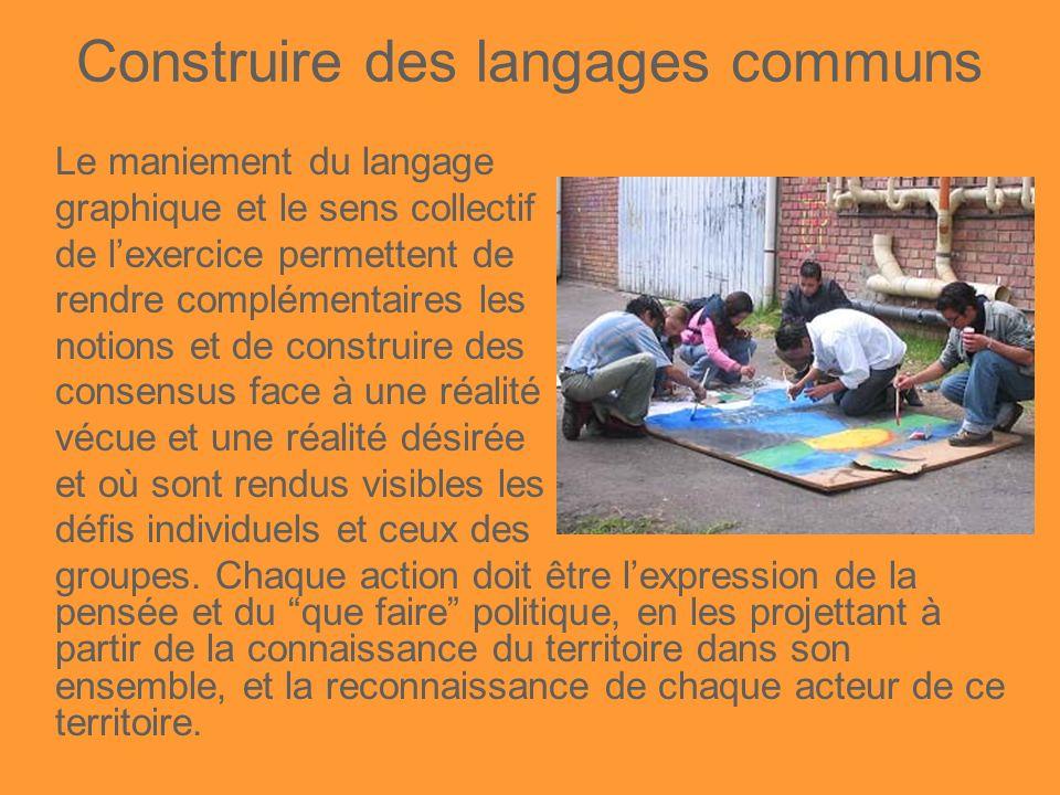 Construire des langages communs