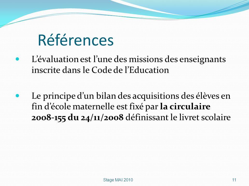 Références L'évaluation est l'une des missions des enseignants inscrite dans le Code de l'Education.