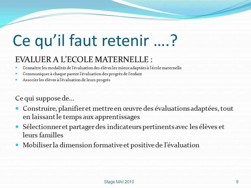 evaluation  u00e0 l u0026 39  u00e9cole maternelle