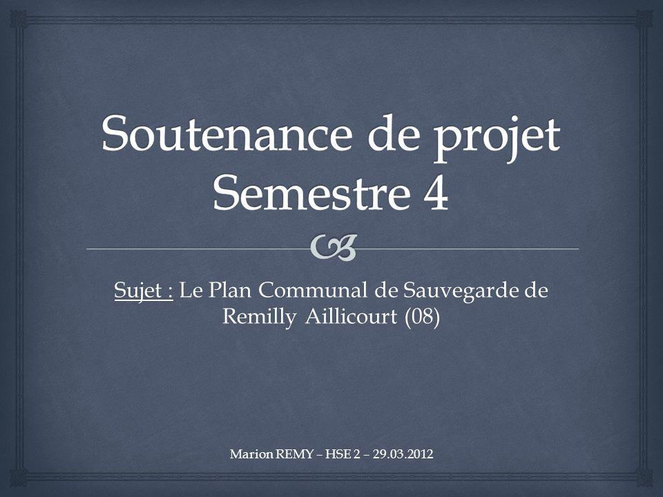 Soutenance de projet Semestre 4
