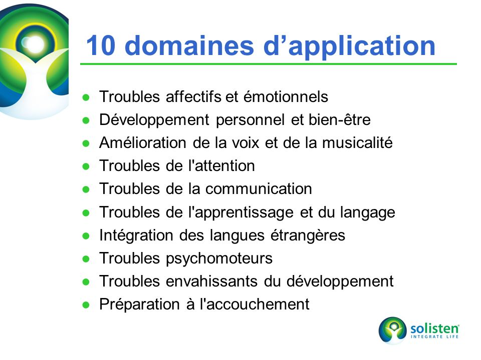 10 domaines d'application