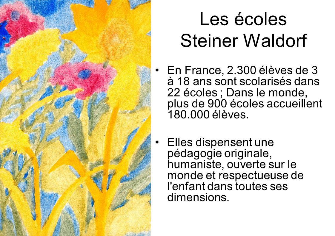 Les écoles Steiner Waldorf
