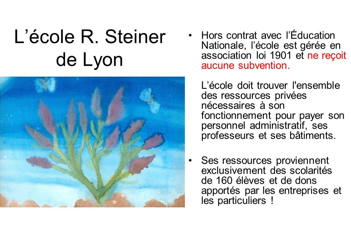 L'école R. Steiner de Lyon