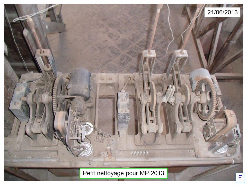 Petit nettoyage pour MP 2013