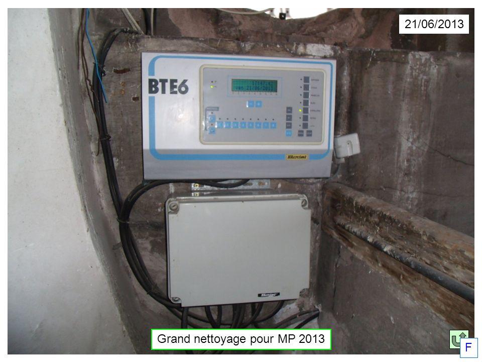 Grand nettoyage pour MP 2013