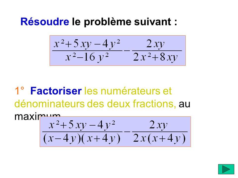 Résoudre le problème suivant :