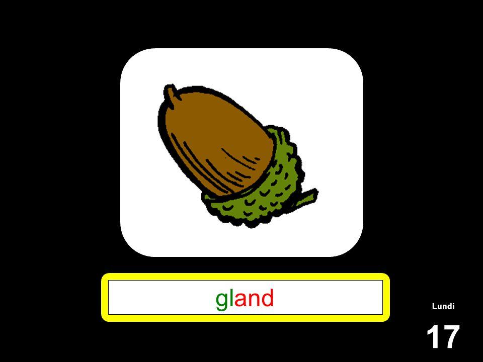 gland Lundi 17