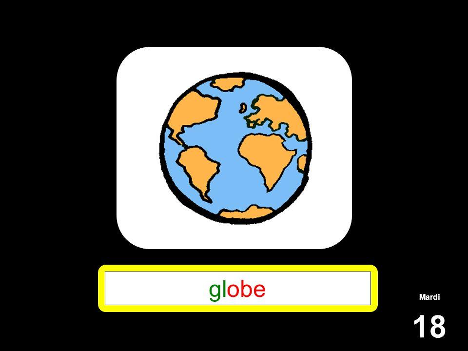 globe Mardi 18