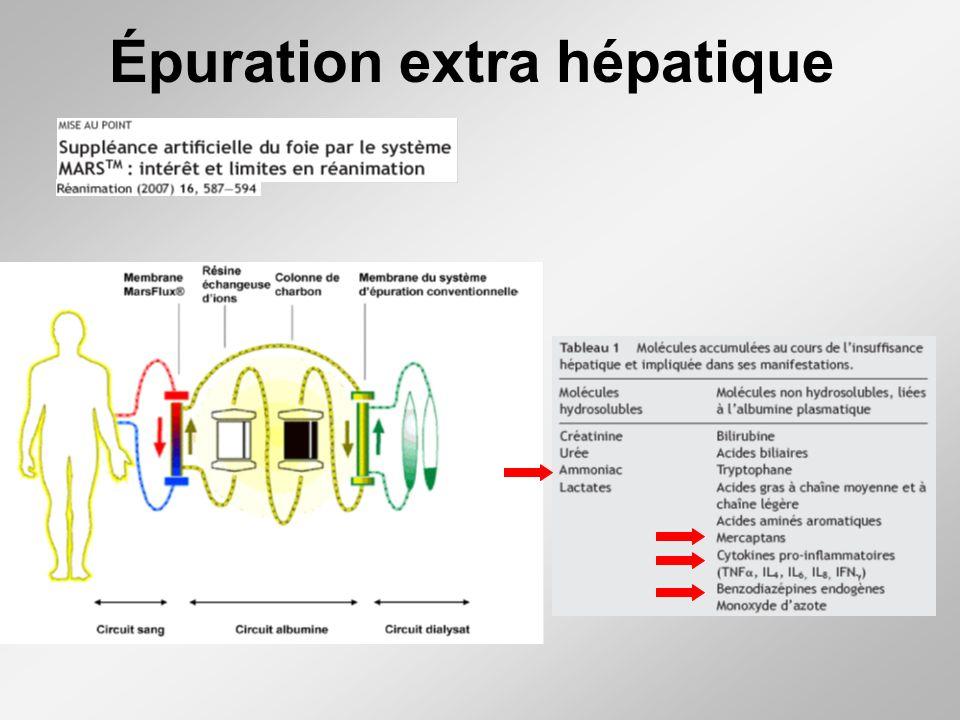 Épuration extra hépatique
