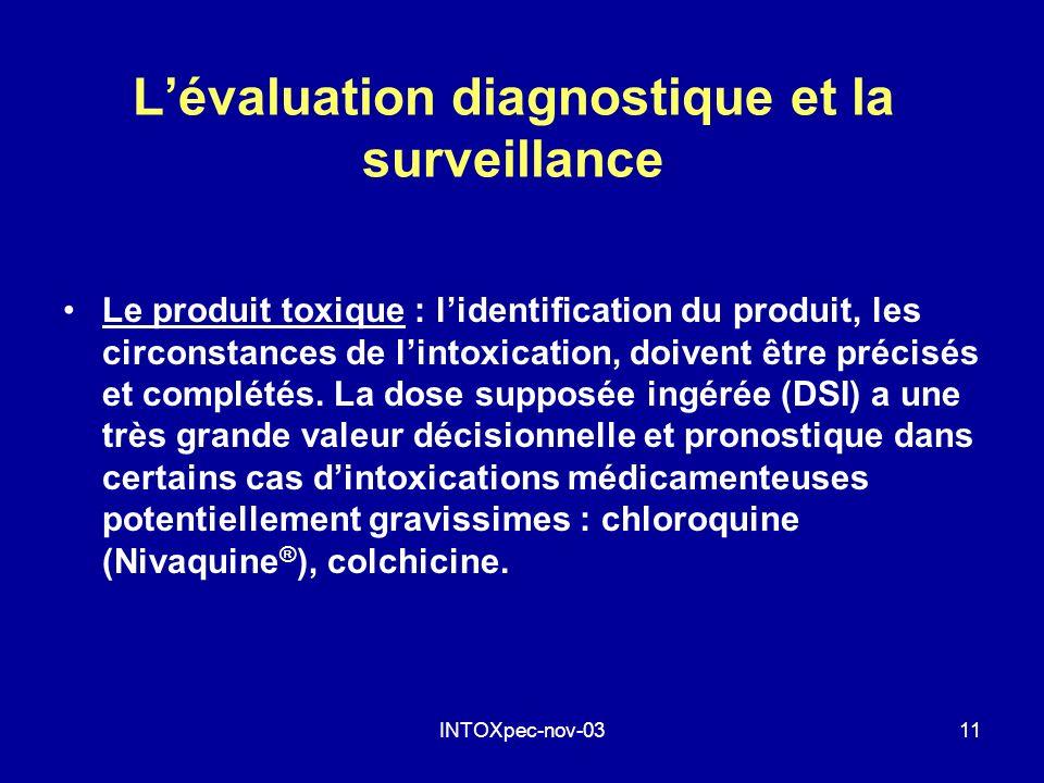 L'évaluation diagnostique et la surveillance