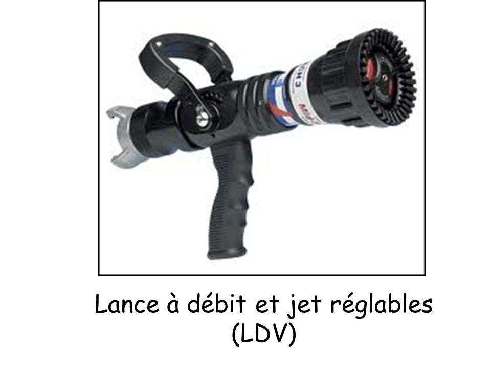 Lance à débit et jet réglables (LDV)