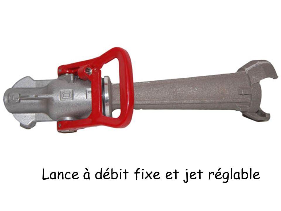 Lance à débit fixe et jet réglable