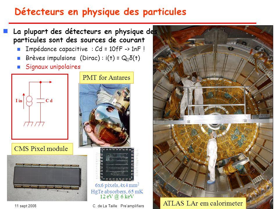 Détecteurs en physique des particules