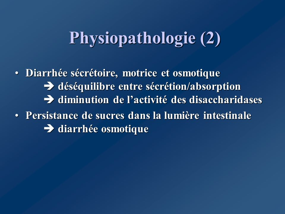 Physiopathologie (2)
