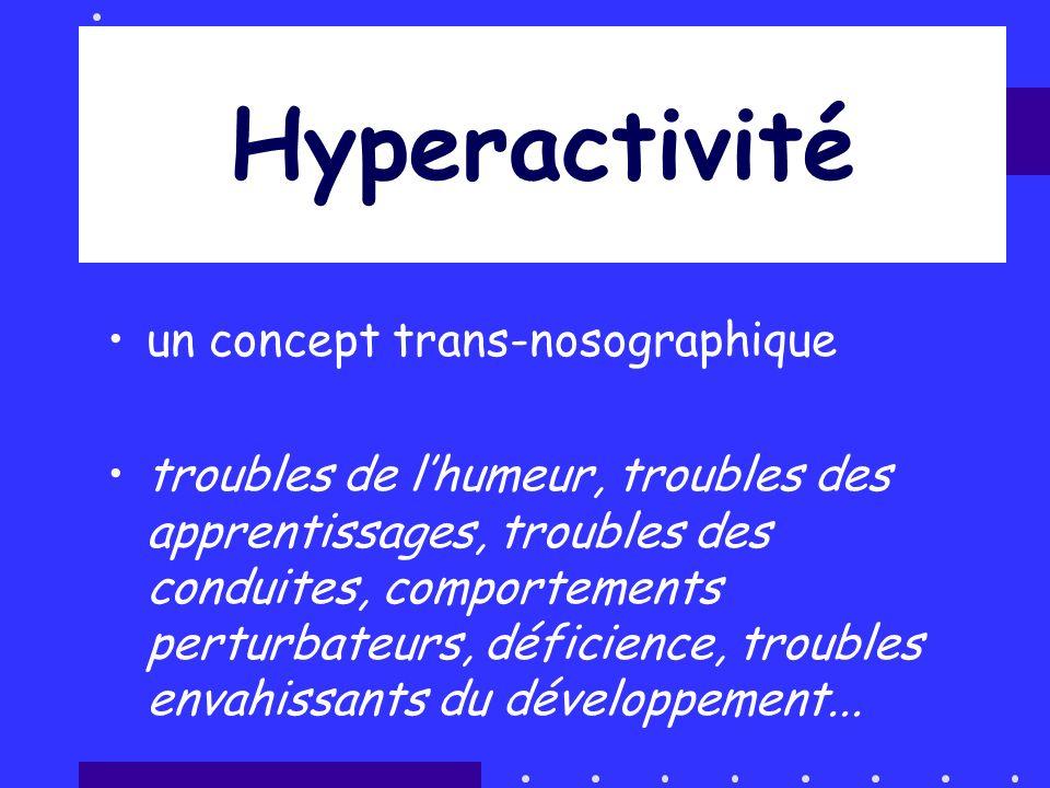 Hyperactivité un concept trans-nosographique