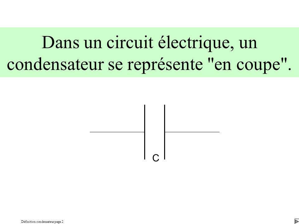 Définition condensateur page 2
