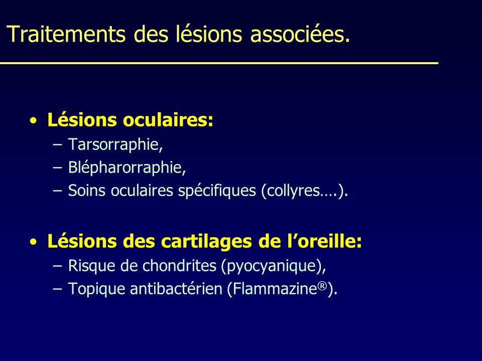 Traitements des lésions associées.