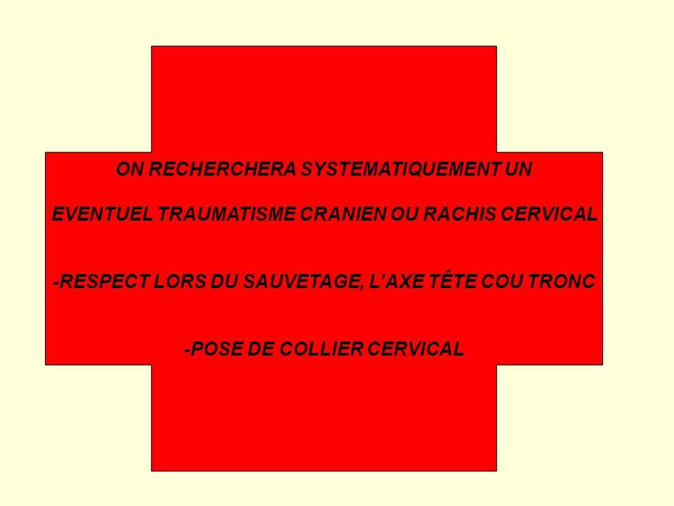 ON RECHERCHERA SYSTEMATIQUEMENT UN