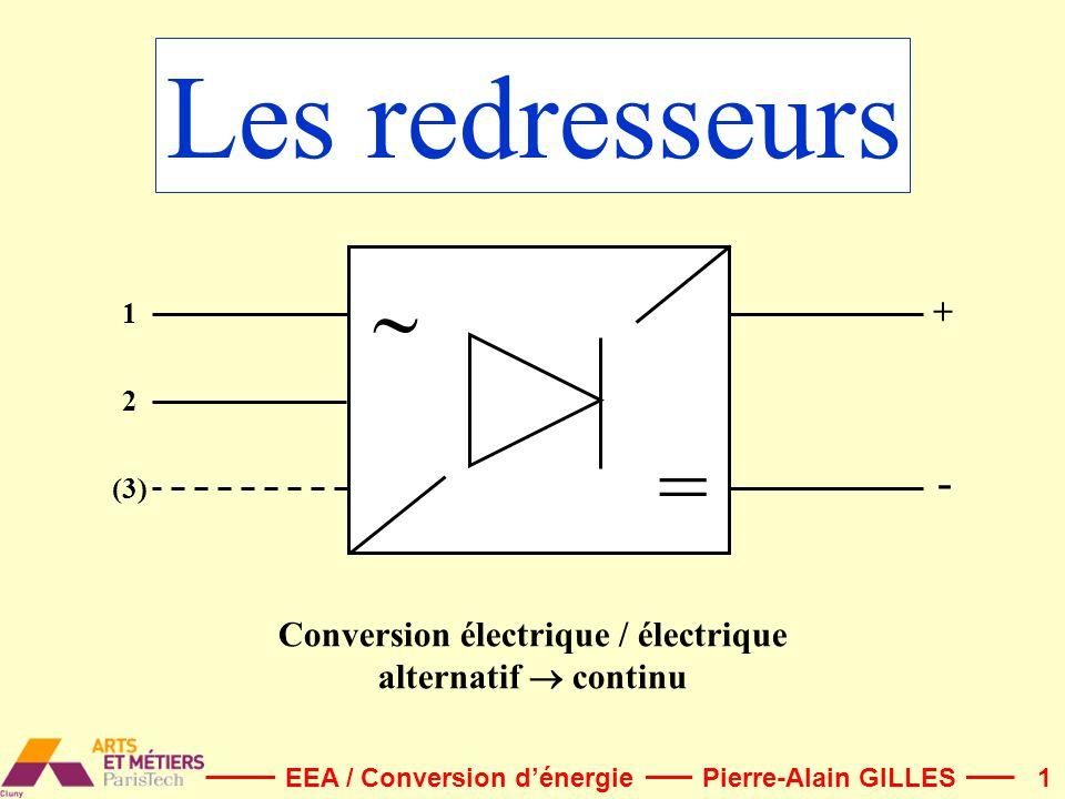 Conversion électrique / électrique