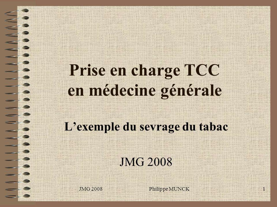 Prise en charge TCC en médecine générale