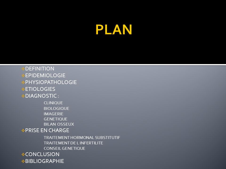 PLAN DEFINITION EPIDEMIOLOGIE PHYSIOPATHOLOGIE ETIOLOGIES DIAGNOSTIC :