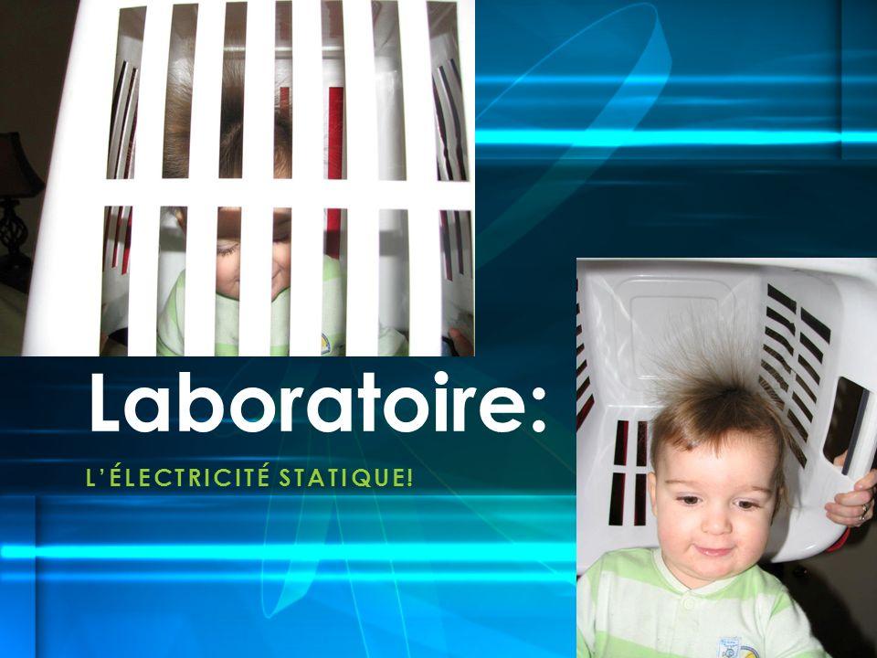 L'ÉLECTRICITÉ STATIQUE!