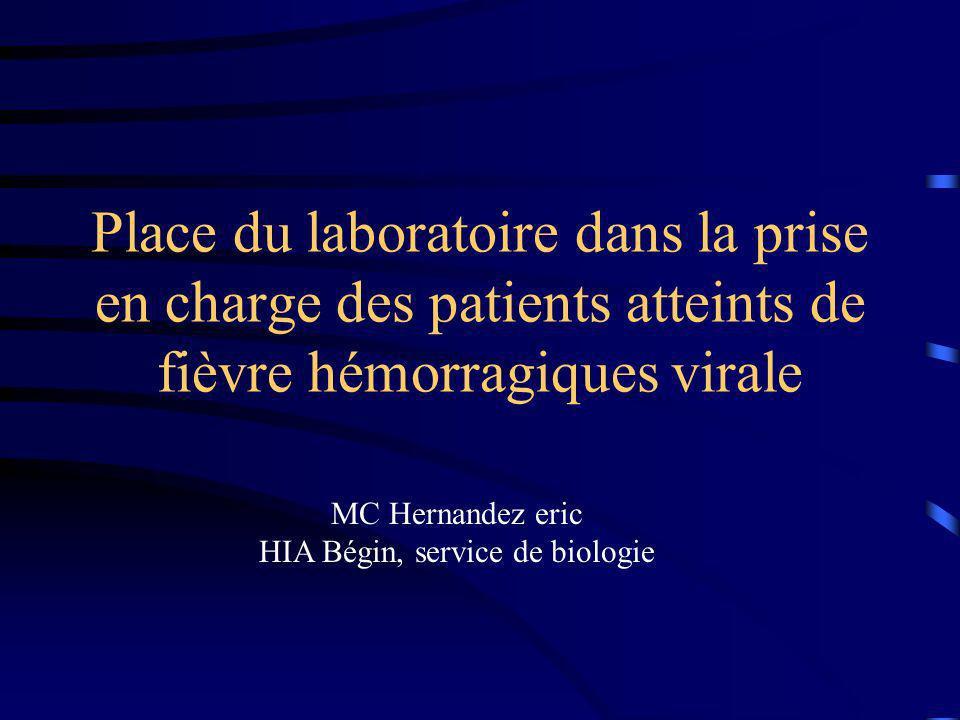 HIA Bégin, service de biologie