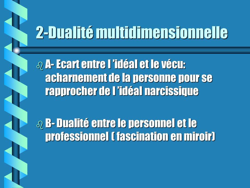 2-Dualité multidimensionnelle