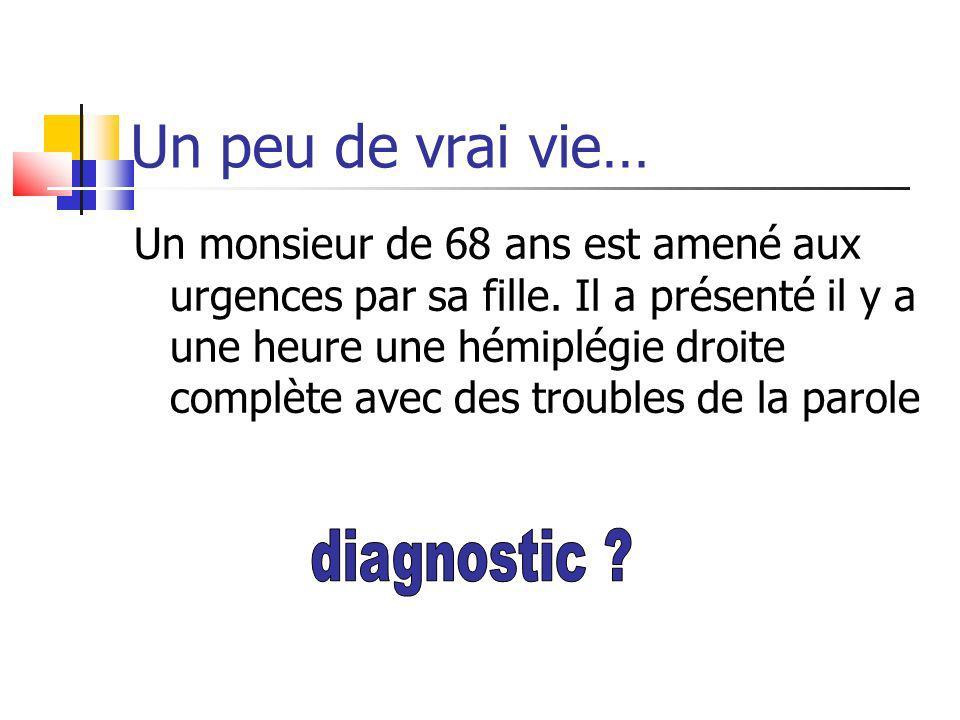 Un peu de vrai vie… diagnostic