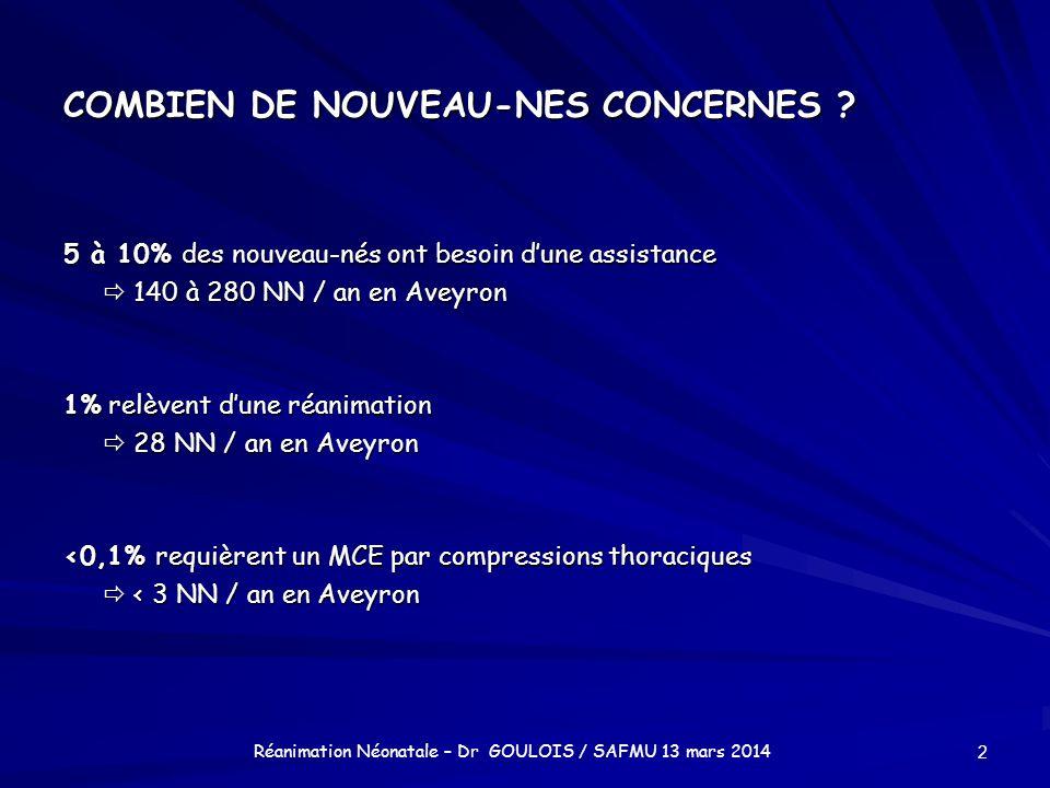 COMBIEN DE NOUVEAU-NES CONCERNES