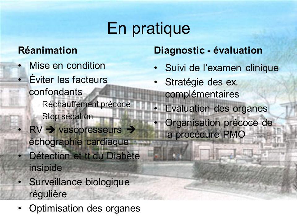 En pratique Réanimation Diagnostic - évaluation Mise en condition