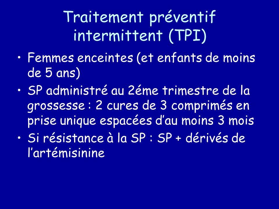 Traitement préventif intermittent (TPI)