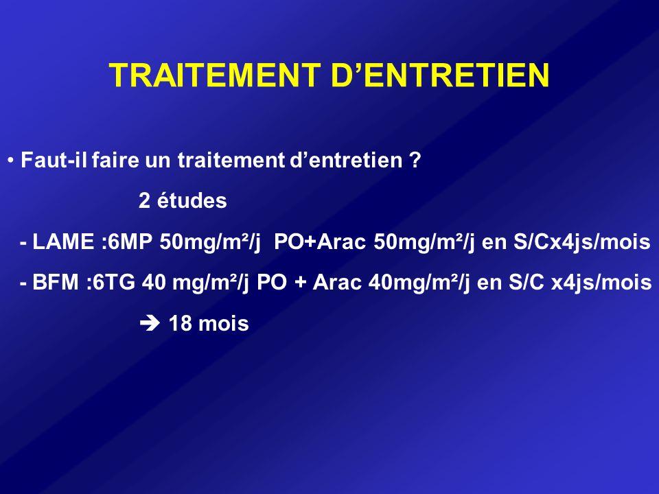 TRAITEMENT D'ENTRETIEN