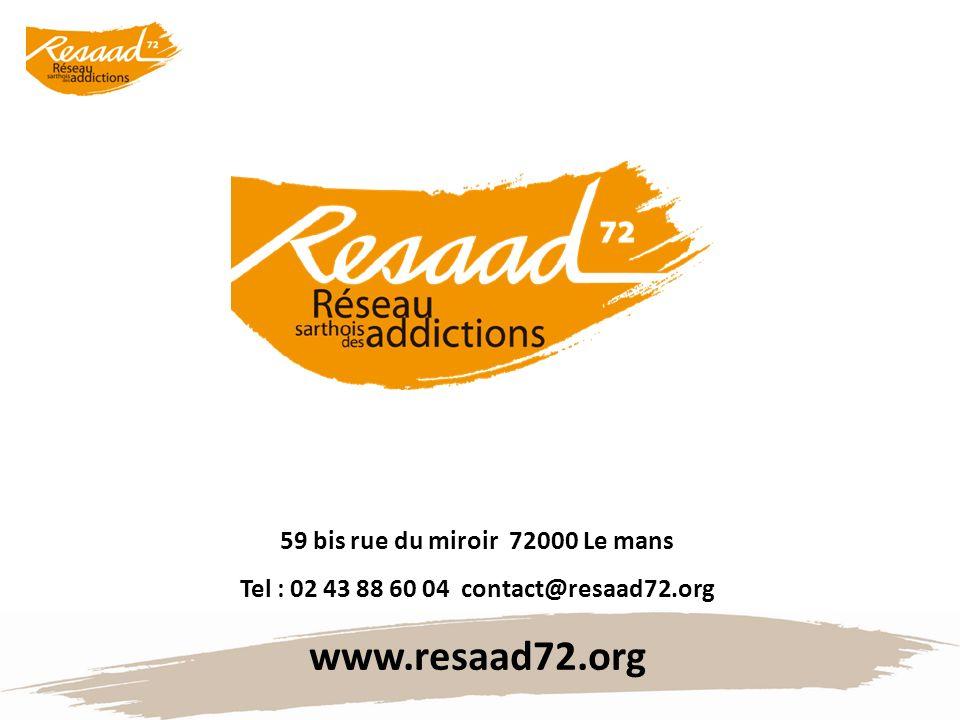www.resaad72.org 59 bis rue du miroir 72000 Le mans