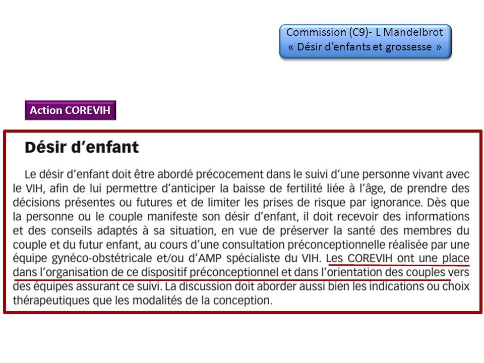 Commission (C9)- L Mandelbrot « Désir d'enfants et grossesse »