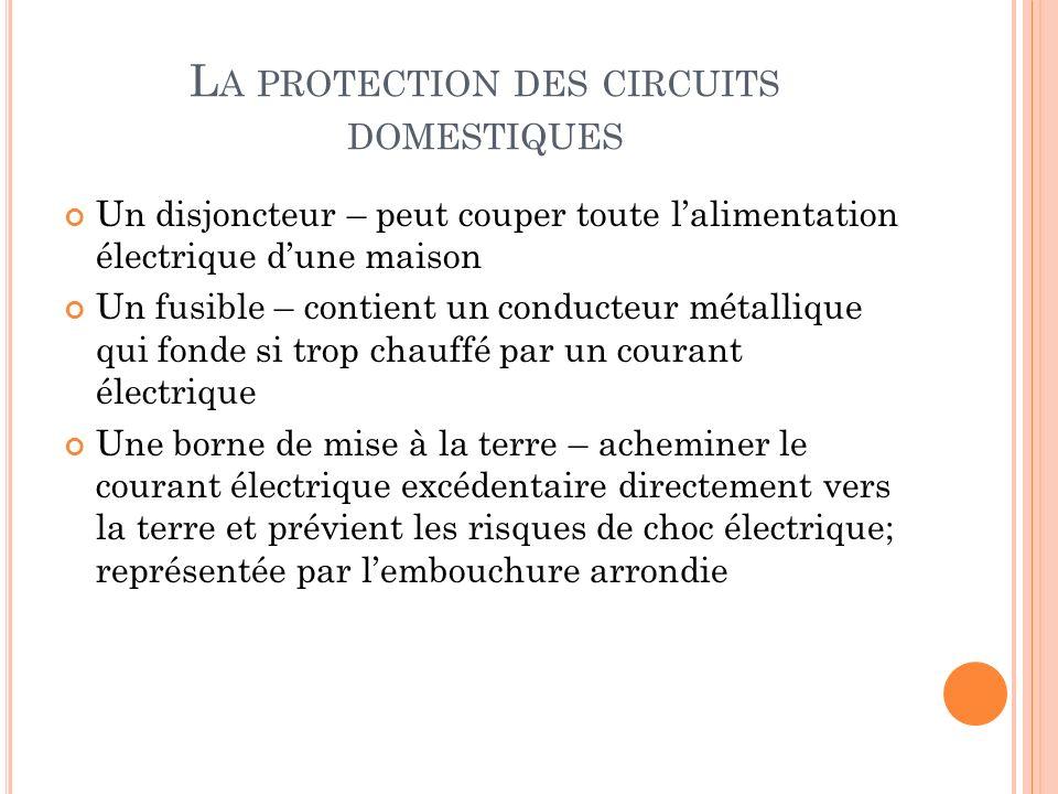les caractéristiques de l électricité ppt télécharger