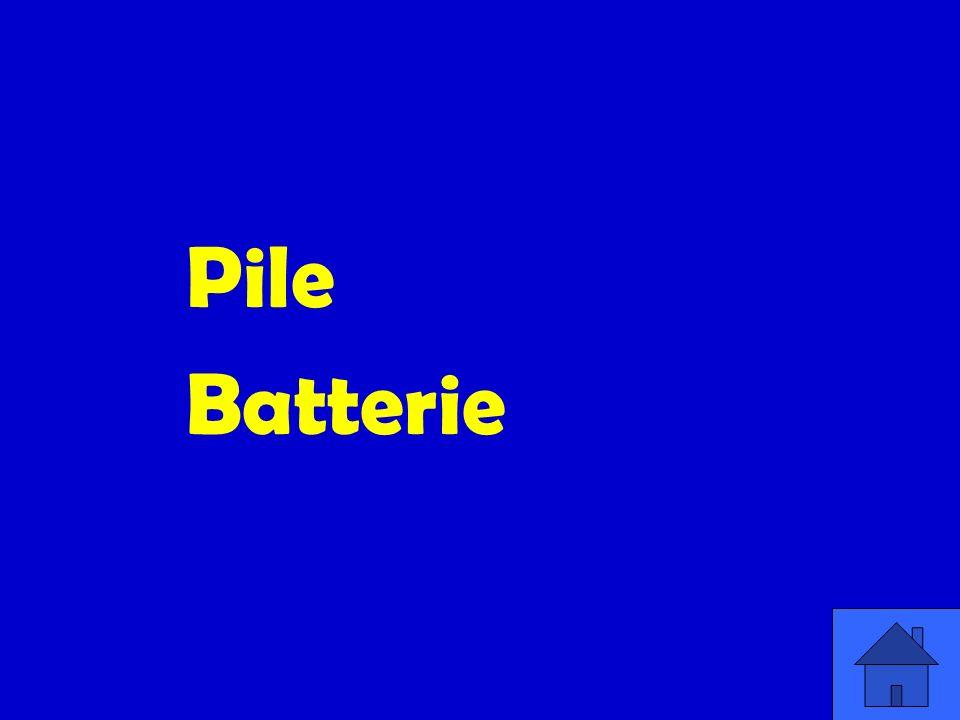 Pile Batterie