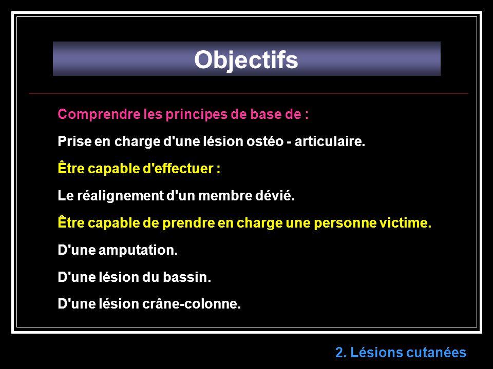 Objectifs Comprendre les principes de base de :