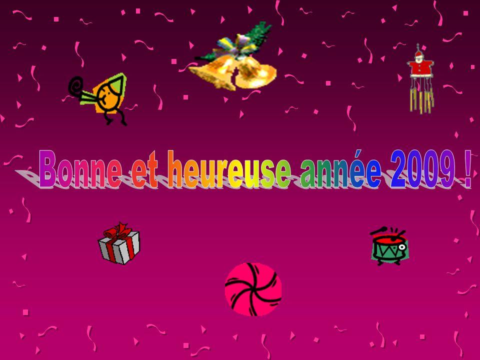 Bonne et heureuse année 2009 !