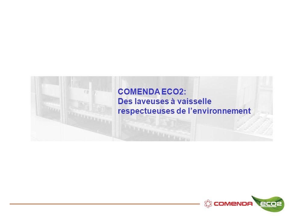 COMENDA ECO2: Des laveuses à vaisselle respectueuses de l'environnement