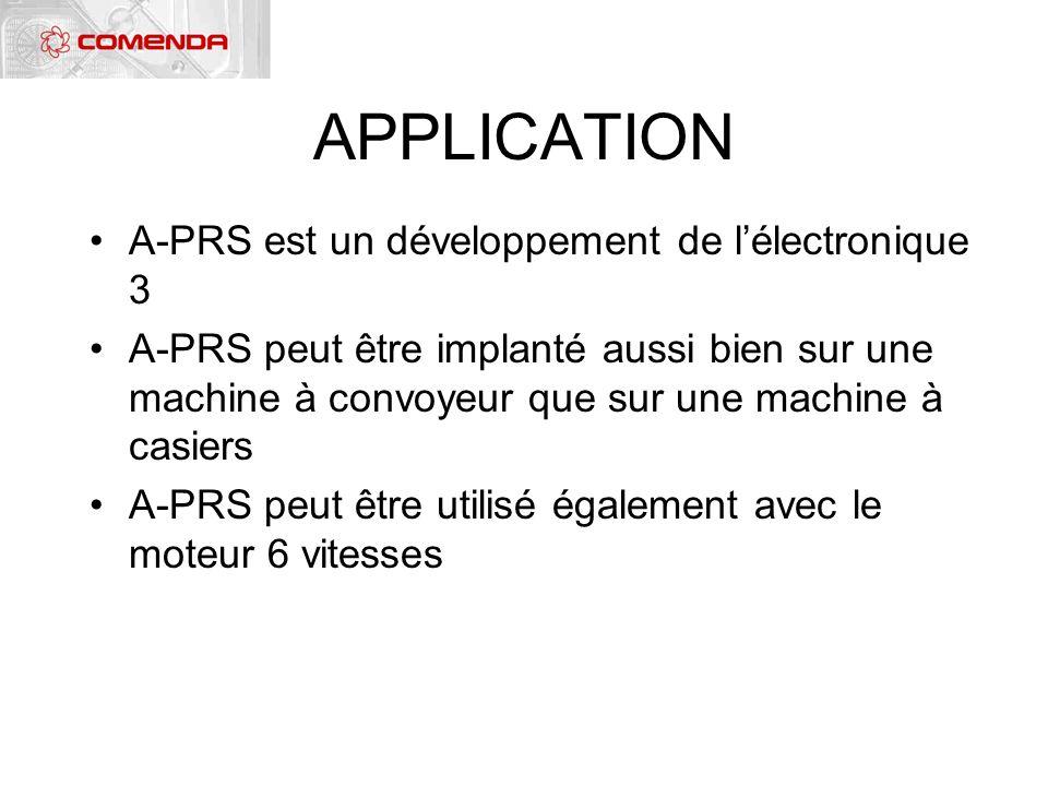 APPLICATION A-PRS est un développement de l'électronique 3