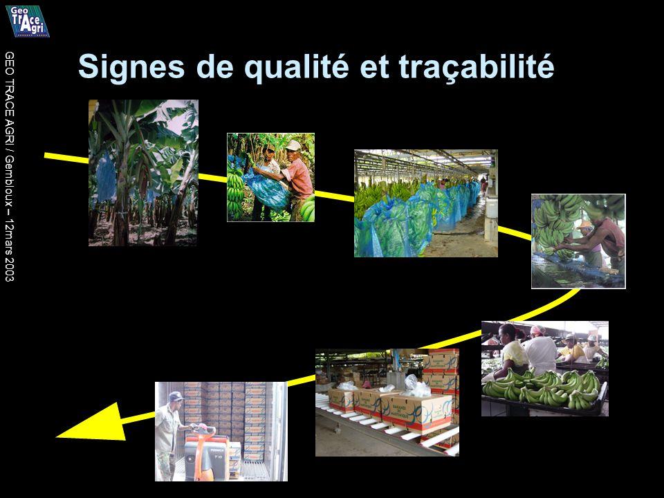 Signes de qualité et traçabilité