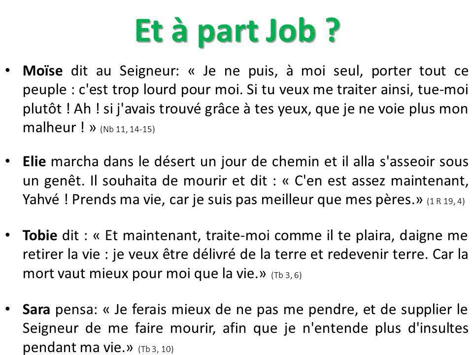 Et à part Job
