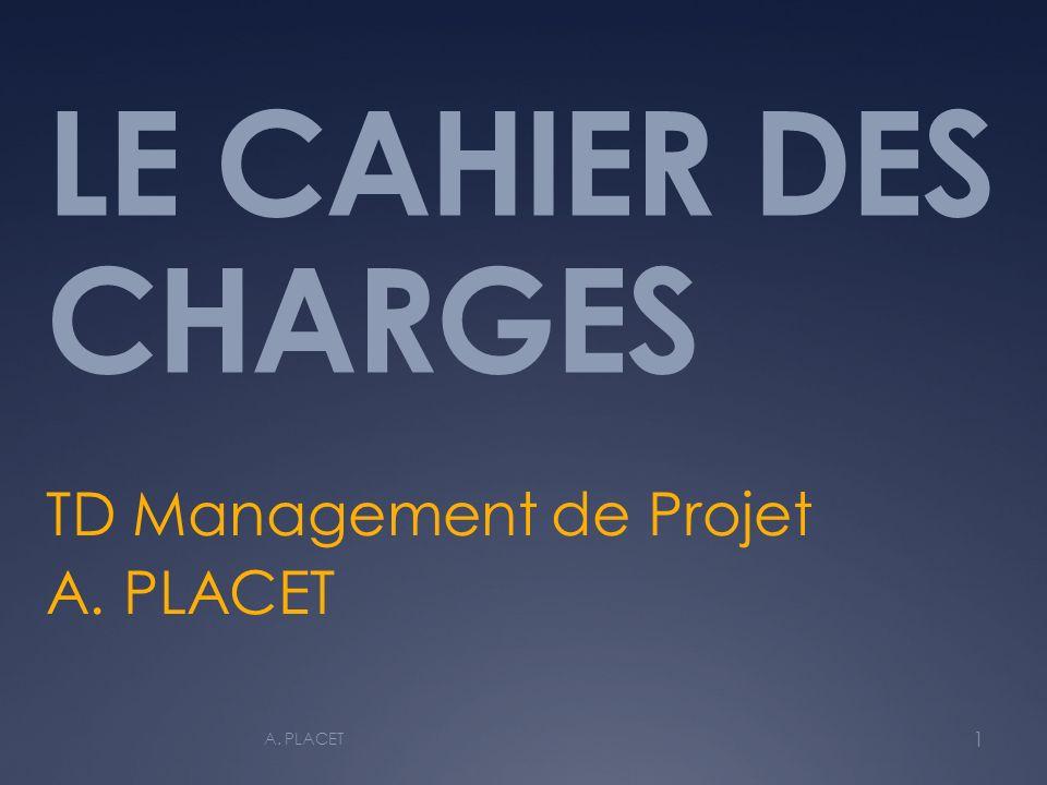 TD Management de Projet A. PLACET