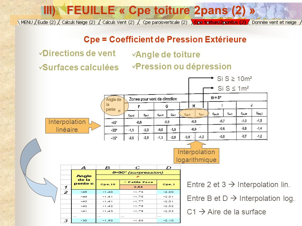 III) FEUILLE « Cpe toiture 2pans (2) »