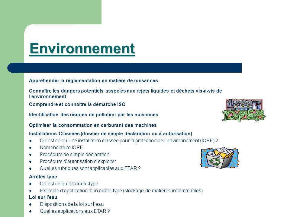 Environnement Appréhender la réglementation en matière de nuisances